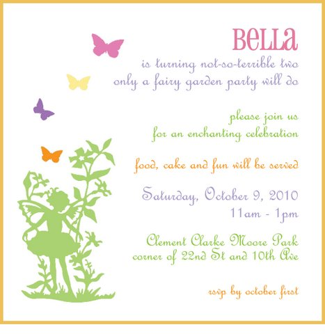 Details from Bella's Fairy Garden Birthday Party