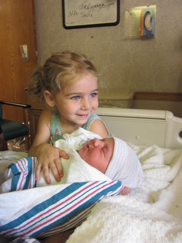 Baby Anya, Day 5