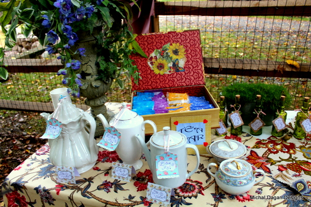 How can you have a tea party without a tea bar???