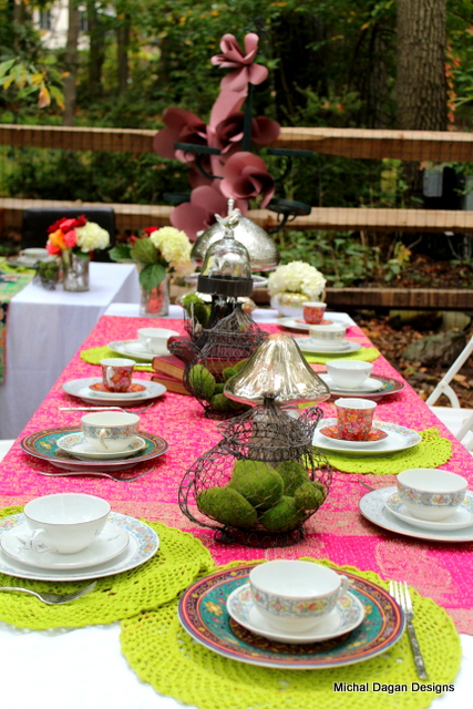 Table setting for the kids - Table #1